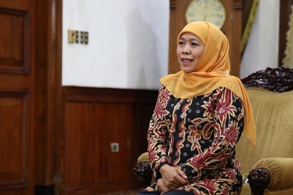 Gubernur Jawa Timur, Khofifah Indar Parawansa.