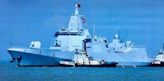 China Tugaskan Nanchang Kapal Perang Terbesar di Asia.