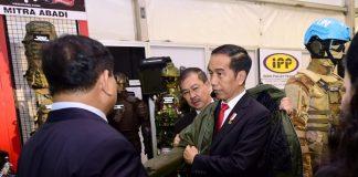 Presiden Dorong Efisiensi Pemanfaatan Anggaran Militer dengan Hidupkan Industri Strategis Indonesia.