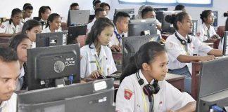 Peserta Seleksi Nasional Masuk PTN.