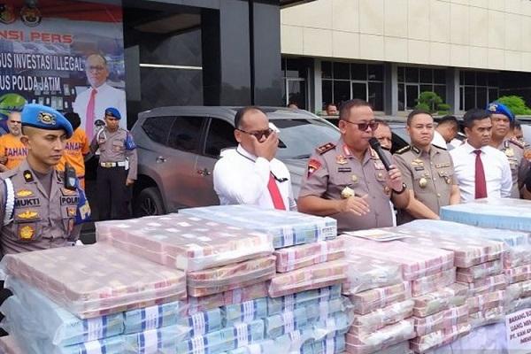 Polda Jawa Timur baru-baru ini membongkar kedok investasi bodong Memiles.