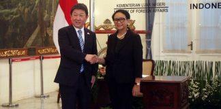 Menlu Retno Ajak Jepang Investasi di Natuna.
