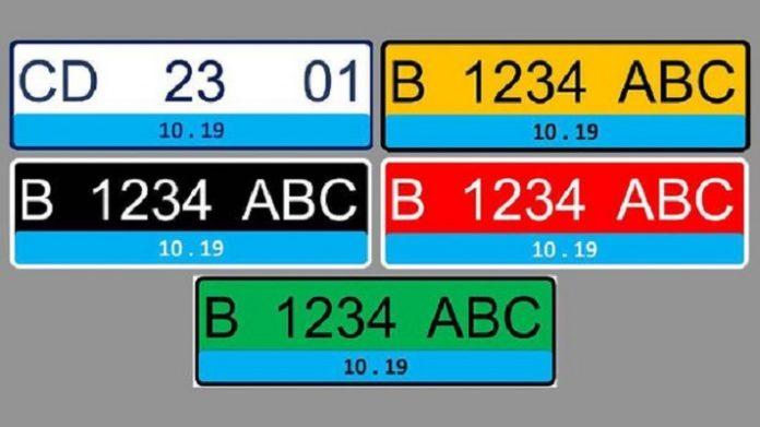 Plat Nomor Khusus Kendaraan Listrik.