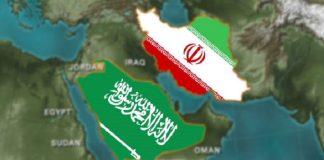 Ilustrasi Iran-Arab Saudi.