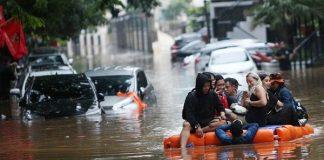 Ilustrasi Daerah Terdampak Banjir.