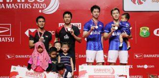 Indonesia Raih Tiga Gelar di Daihatsu Indonesia Masters 2020.