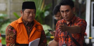 Bupati Sidoarjo non aktif, Saiful Ilah akhirnya resmi dijadikan sebagai tersangka oleh Komisi Pemberantasan Korupsi (KPK).