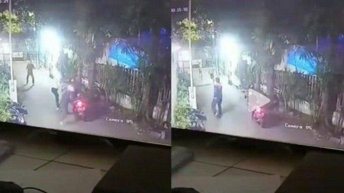 Viral, Jari Satpam Putus Diserang 2 Rampok.