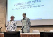 Susunan Komisaris dan Direksi Garuda Indonesia.