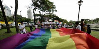 Ilustrasi komunitas LGBT.