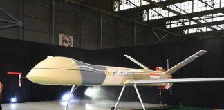 Drone berjenis Medium Altitude Long Endurance (MALE) Elang Hitam.