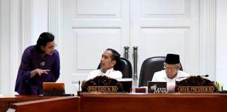 Presiden Jokowi Targetkan Draf RUU Omnibus Law Selesai Minggu Ini.