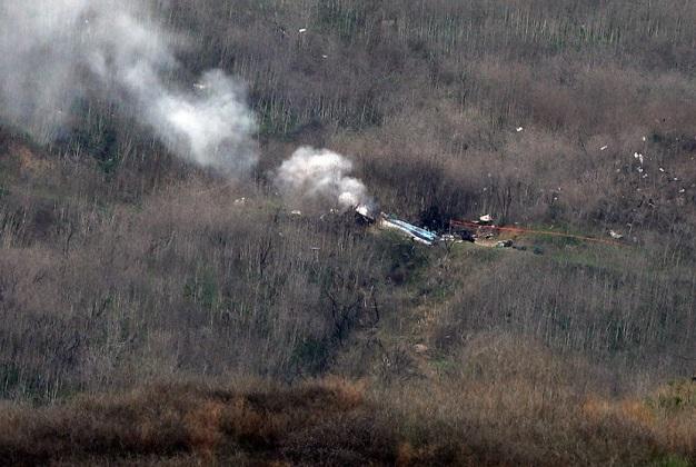 Kronologi Kecelakaan Helikopter yang Ditumpangi Kobe Bryant.