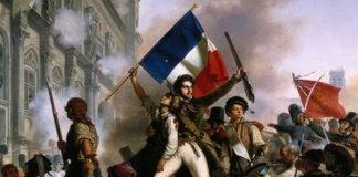Ilustrasi Perang Revolusi Prancis.