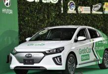 Grab Gandeng Hyundai Luncurkan Mobil Listrik untuk Taksi Online.