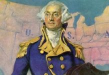 Presiden Pertama Amerika Serikat George Washington.