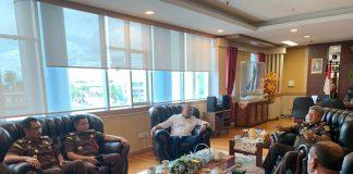 Terima Aspirasi Gubernur Sulsel, Ketua DPD Minta Kajati Bantu Kawal Pembangunan.