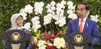Presiden Jokowi Bahas Kerja Sama Investasi dan Pengembangan SDM dengan Singapura.