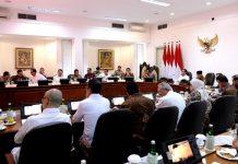 Presiden Jokowi Pimpin Ratas Penyelenggaraan Piala Dunia Basket 2023.