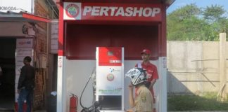 SPBU mini alias Pertashop Pertamina.