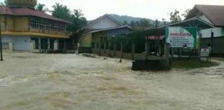 13 Kelurahan di Kota Solok Terendam Banjir.