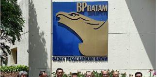 Kunjungan kerja Ketua DPD RI AA LaNyalla Mahmud Mattalitti ke Kota Batam.
