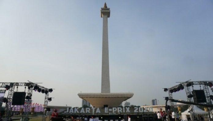 DPRD DKI Tolak Monas untuk Sirkuit Formula E.