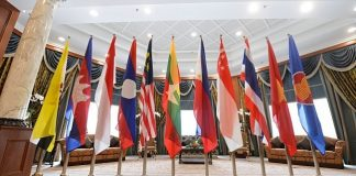 Association of Southeast Asian Nations (ASEAN) atau Perhimpunan Bangsa-bangsa Asia Tenggara (Perbara).