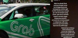 Viral, Penumpang Grab Car Nyaris Diculik di Siang Bolong.