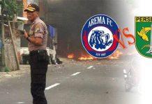 Berikut Fakta Bentrokan Aremania vs Bonek di Kota Blitar.