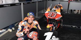 Pembalap MotoGP, Marc Marquez.