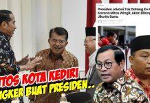Mitos Wingit Akan Dilengserkan, Presiden Jokowi Dilarang ke Kediri.