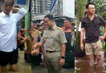 Ahok Ungguli Jokowi dan Anies Terkait Masalah Macet dan Banjir Jakarta.