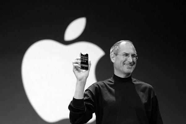 Pendiri Apple Computer Steve Jobs.