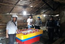 Polisi Gerebek Kampung Narkoba di Biru-Biru Deli Serdang.