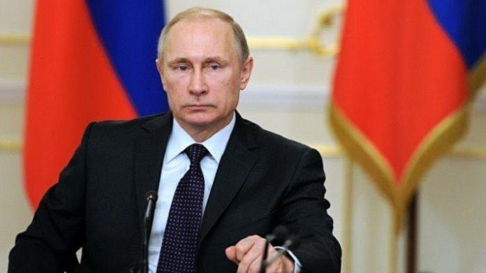 Presiden RusiaVladimir Vladimirovich Putin.