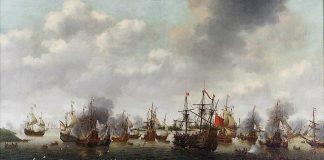 Ilustrasi Perang Inggris-Belanda II.
