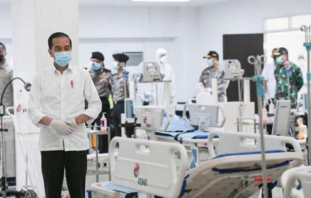 Presiden Jokowi Minta BPJS Kesehatan Siapkan Anggaran Penanganan Covid-19.