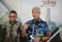 Gubernur Jawa Tengah,Ganjar Pranowo.