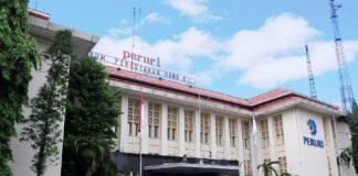 Perusahaan Umum Percetakan Uang Republik Indonesia (Peruri).