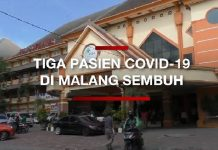 Tiga Pasien Covid-19 di Malang Sembuh.