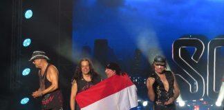 Band Legendaris Scorpions, Jogjarockarta International Rock Music Festival 2020.