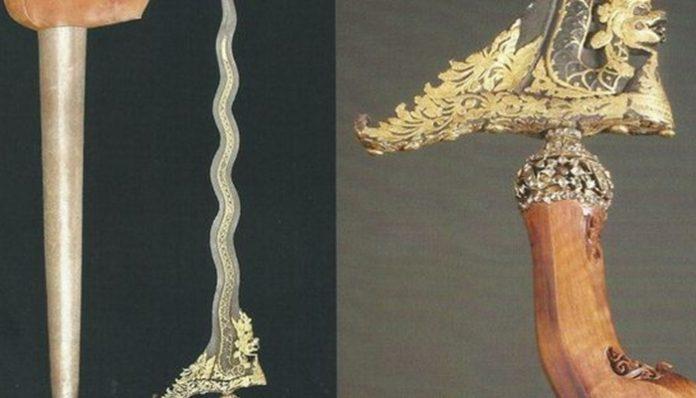 keris Kyai Naga Siluman milik Pangeran Diponegoro.