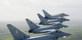 Jet Tempur Typhoon.