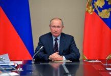 Vladimir Putin Jadi Presiden Rusia.