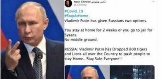 PresidenRusiaVladimir Putin.