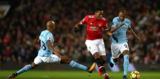 MU vs Man City, Anthony Martial Samai Rekor Ronaldo.