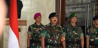 Panglima TNI Marsekal TNI Hadi Tjahjanto.