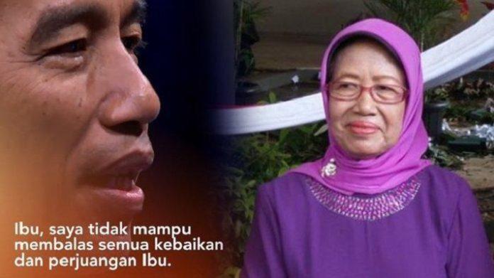 Sudjiatmi Notomiharjo, Ibunda Presiden Jokowi.