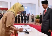 Jokowi Pecat Evi Novida Ginting sebagai Anggota KPU.
